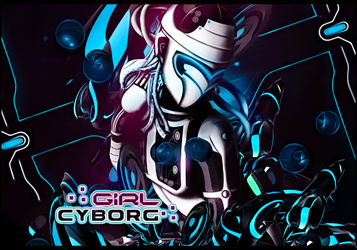 Firma Girl Cyborg by Katxiru