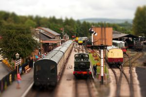 Toy Trains by JimmyJam75