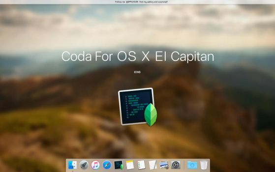 Coda For OS X El Capitan by MaxColins