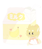 Banana milk by FluffRave