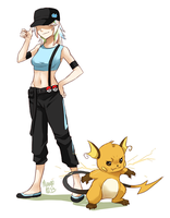 Opal and Raichu