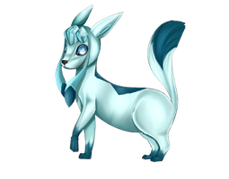 Glaceon by Beeplee