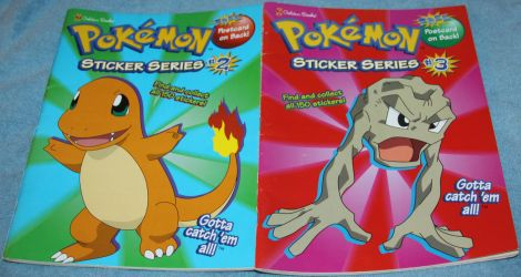 Pokemon - Coloring Book w/300 Stickers - 4 Sale by Lovely-DreamCatcher