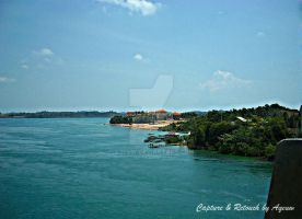 View of Barelang Brige-INA by aqeuw