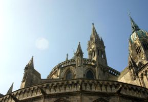 Cathedral of Bayeux Detail (3) by UdoChristmann