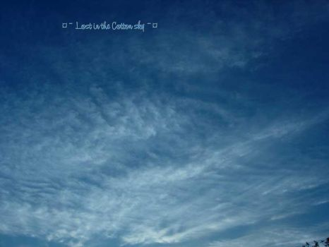 Lost In The Cotton Sky by Fleur2Minuit