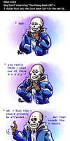 Undertale ask blog: the punny book by JimPAVLICA