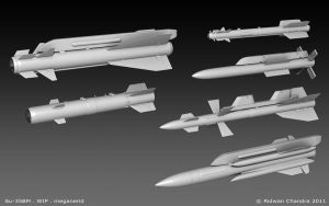 Russian Missiles by MeganeRid
