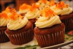 Carrot Cake Cupcakes with Cream Cheese Frosting by asainemuri