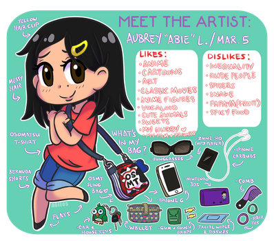 Meet the Artist: Abie05 by Abie05