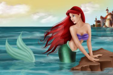 Out of the Sea by madmoiselleclau