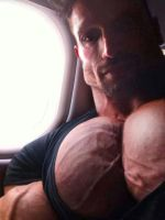Jammed in the seat by BBbelly