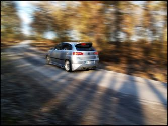 Seat Ibiza in motion II. by Skitone