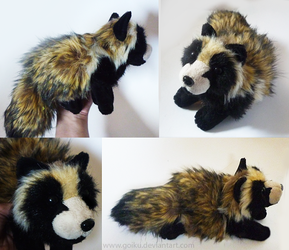 Tanuki - small floppy by CyanFox3