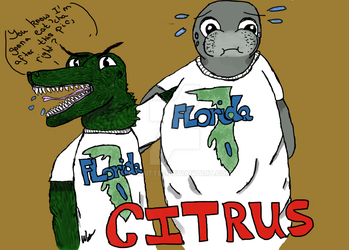 Citrus County T-shirt Design by Le-Smittee