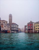 Foggy Venice IX by Aenea-Jones