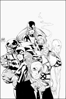 Uncanny X-Men 378 cover by TimTownsend