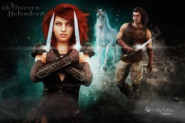 The Unicorn Defenders by MollyTabby