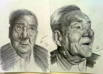 A Funny Old Man portrait by OCMay