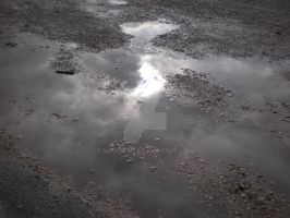 Puddle and Sky by MichaFire