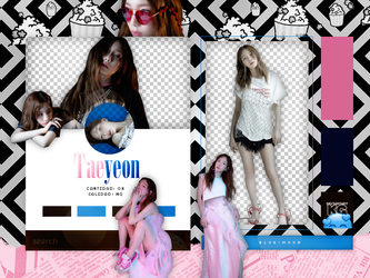 TAEYEON | Something New | PACK PNG by KoreanGallery