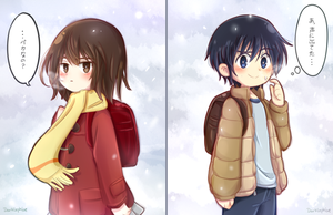 These kids are pure love - Boku dake ga inai machi by Darklephise