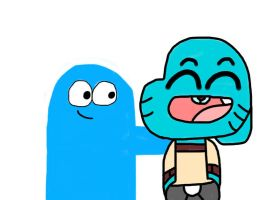 Gumball and Bloo by MigsGarcia5127