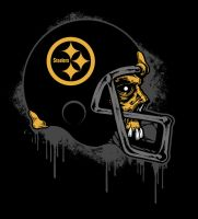 STEELERS ZOMBIE SHIRT ART by BURZUM