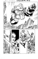 UltraVixen Page Inks Issue #2 James Whynot by MaelstromMediaComics