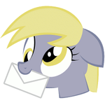 Derpy Mail by uncommentator