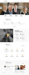 Trust - Lawyer, Attorney Business PSD Template by begha