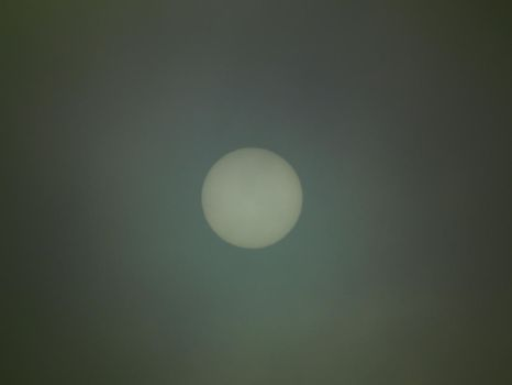 Sun behind clouds 2 by Limited-Vision-Stock