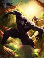Black Panther by KhallidJoseph