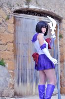 Sailor Saturn - Soldier of Silence by ChiaraTrancy