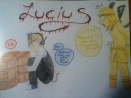 Pewdiepie plays Lucius by judy2468