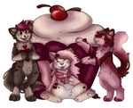 [collab] Cupcake Kitties! by Frosted-Monster