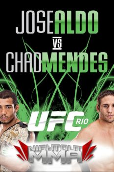 ufc 142 RIO Facebook banner credit by PMat26oo by SilentGorilla