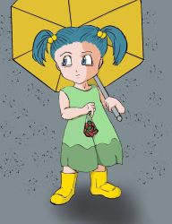 Kid Bulma by cookingkitty18