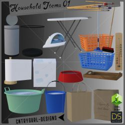 Household Items 01 by CntryGurl-Designs