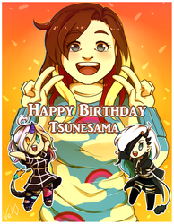 Happy Birthday Tsunesama ! by Val-07