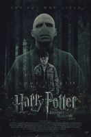 Harry Potter and the Deathly Hallows   Poster by Squiddytron