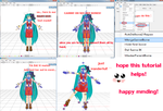 mmd automatic bone attaching tutorial by Tehrainbowllama