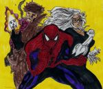 Spiderman and gang by Taylor2984