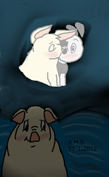 Snowball's thought of Dudley by Ay6