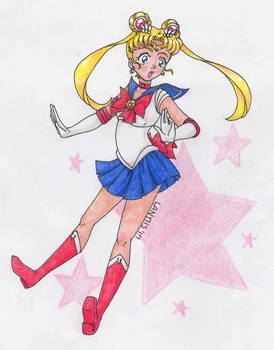 Sailor Moon ... Falling Again by iLantiis