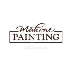 Mahone Painting - Logo by red20