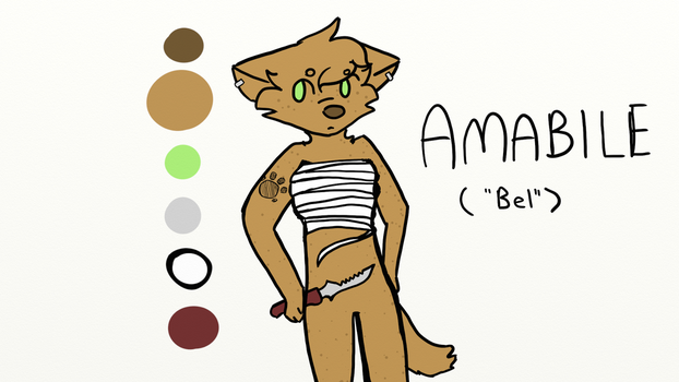 [Ghost Towns 2] Amabile by CreativeCanidae