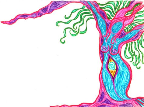 Tree Woman 1 by GaiaGroove