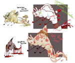 PAYPAL ADOPTABLES - Haihunds set 1 - OPEN by SorahChan