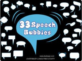 33 Speech Bubbles by namespace